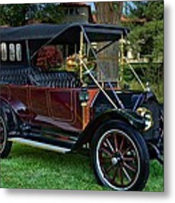 1912 Reo The Fifth 4 Door Touring Car Metal Print by Tim McCullough