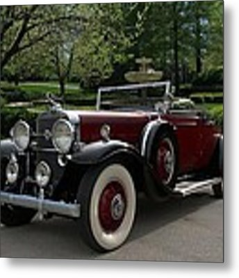 1931 Cadillac Roadster V12 Metal Print by Tim McCullough