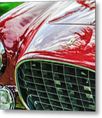 1954 Ferrari Europa 250 Gt Grille -1336c Metal Print by Jill Reger