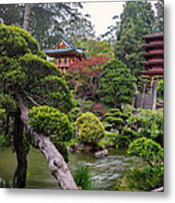 Japanese Tea Garden - Golden Gate Park Metal Print by Adam Romanowicz
