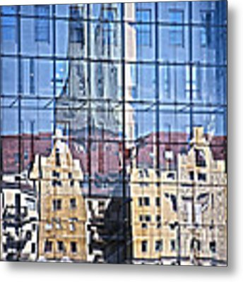 Mirror On The Wall Metal Print by Heiko Koehrer-Wagner