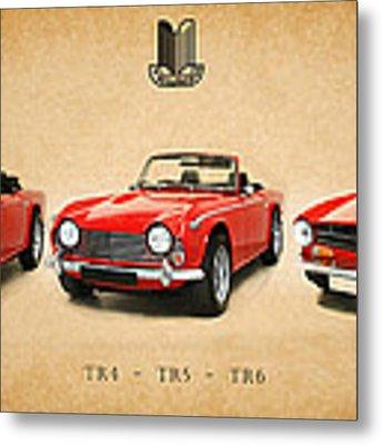 Triumph Tr Series Metal Print