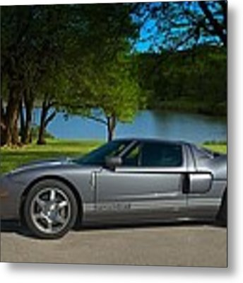 2006 Ford Gt Metal Print by Tim McCullough