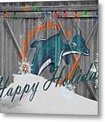 Miami Dolphins Metal Print