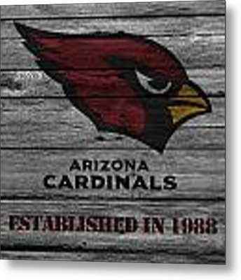 Arizona Cardinals Metal Print by Joe Hamilton