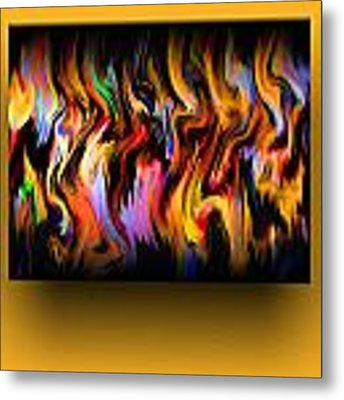 Color Expression Metal Print by Mihaela Stancu