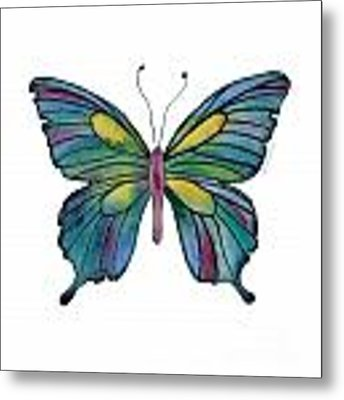 71 Cathedral Butterfly Metal Print by Amy Kirkpatrick