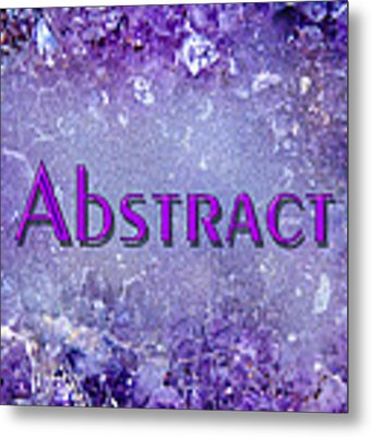 Abstract Gallery Cover Metal Print by Donna Proctor