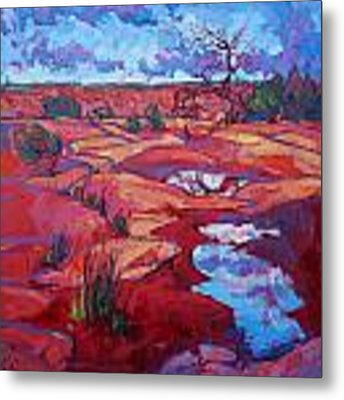 After The Rain Metal Print by Erin Hanson