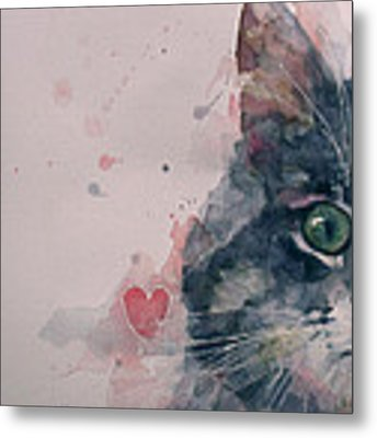 And I Love Her Metal Print