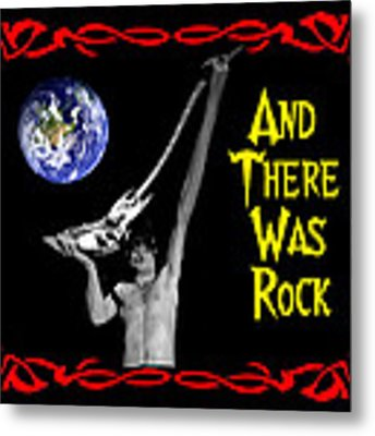 And There Was Rock #2 Metal Print by Ben Upham