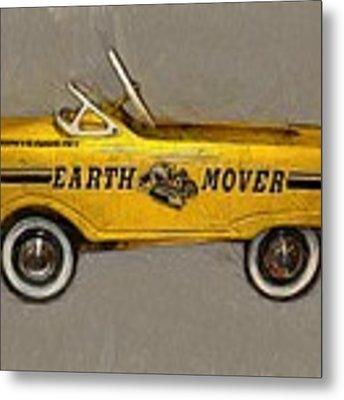 Antique Pedal Car Vl Metal Print by Michelle Calkins
