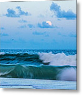 August Blue Moon Metal Print by Francis Trudeau