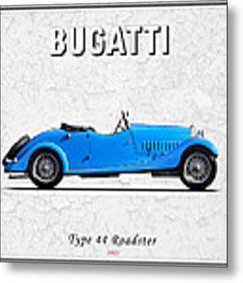 Bugatti Type 44 1927 Metal Print