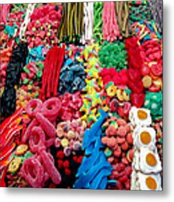 Candy Shop Metal Print by Jim DeLillo