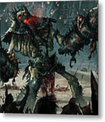 Carnage Gladiator Metal Print
