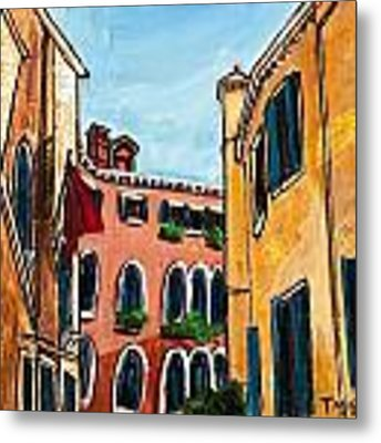 Close Quarters Metal Print by TM Gand