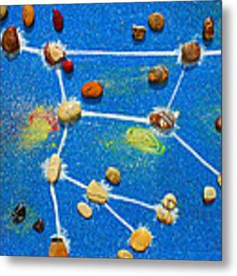 Constellation Of Ursa Major Metal Print by Augusta Stylianou
