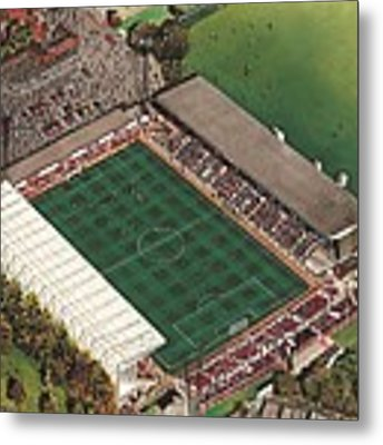 County Ground - Swindon Town Metal Print by Kevin Fletcher