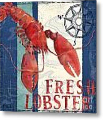 Deep Sea Lobster Metal Print by Paul Brent