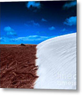 Desert Sand And Sky Metal Print by Julian Cook