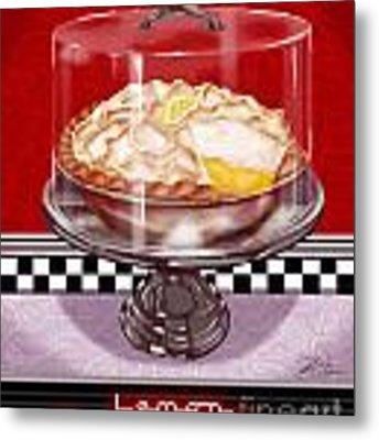 Diner Desserts - Lemon Meringue Pie Metal Print