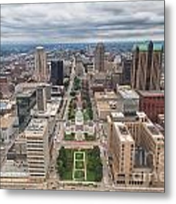 Downtown St Louis Old Courthouse Metal Print by Sophie Doell