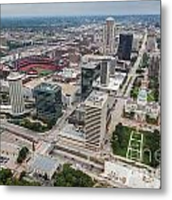 Downtown St Louis Metal Print by Sophie Doell