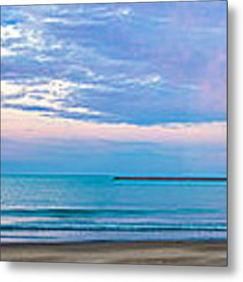 End Of The Blue Hour Metal Print by Steven Santamour