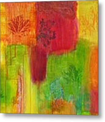 Fall Impressions Metal Print by Angelique Bowman