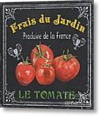 French Vegetables 1 Metal Print