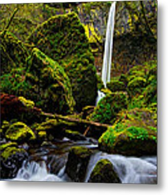 Green Seasons Metal Print
