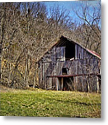 Hidden Barn Metal Print by Cricket Hackmann