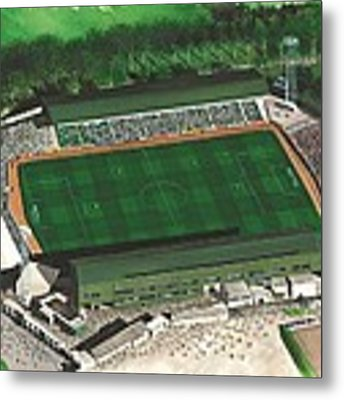 Home Park - Plymouth Argyle Metal Print by Kevin Fletcher