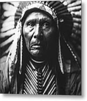 Indian Of North America Circa 1905 Metal Print