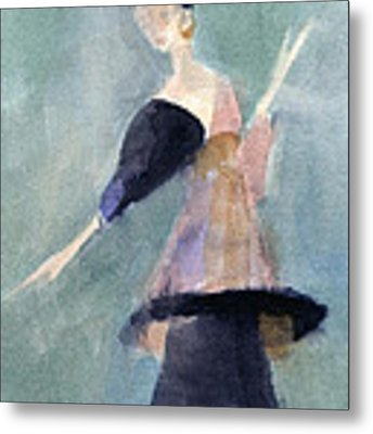 Inspired By Paul Poiret Fashion Illustration Art Print Metal Print by Beverly Brown