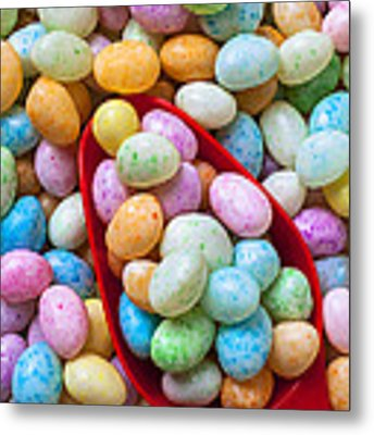 Jelly Beans Metal Print by Garry Gay