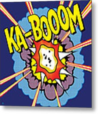 Ka-boom 2 Metal Print by Gary Grayson
