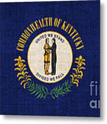 Kentucky State Flag Metal Print