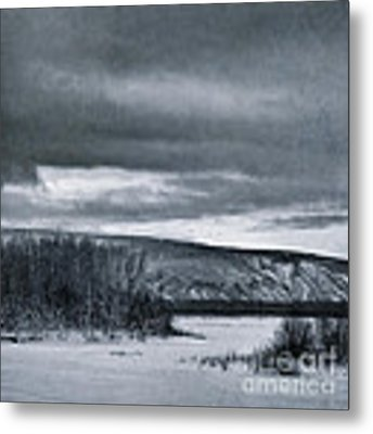 Land Shapes 14 Metal Print