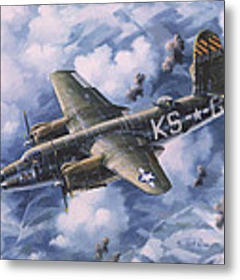 Last Flight Of The Shirley D Metal Print by Randy Green