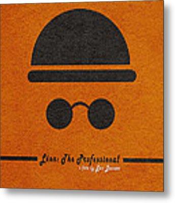 Leon The Professional Metal Print