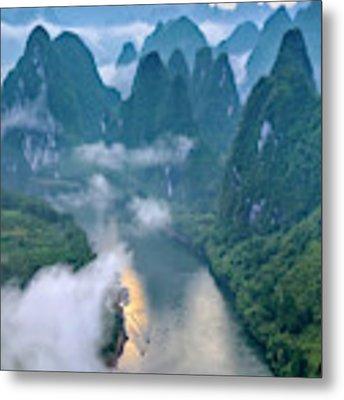 Li River Metal Print by Hua Zhu