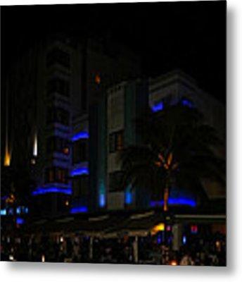 Lights Around Casablanca Metal Print by Ed Gleichman