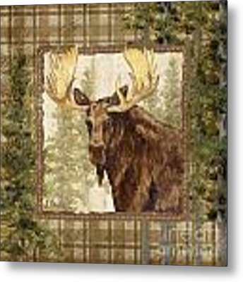 Lodge Portrait Iv Metal Print