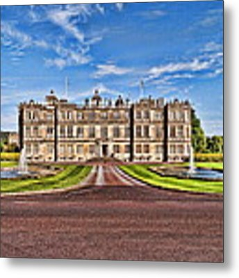 Longleat House Metal Print by Paul Gulliver
