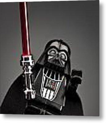 Lord Vader Metal Print