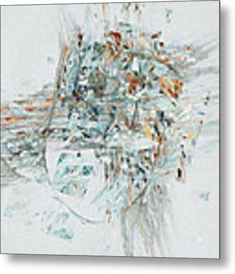 Losing My Reality Metal Print by Menega Sabidussi