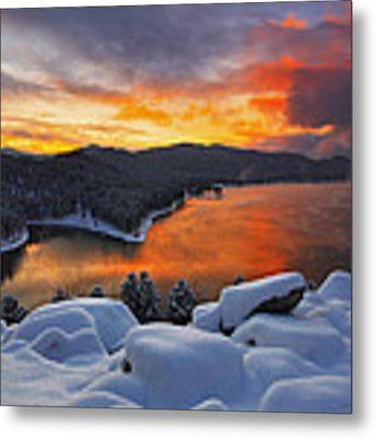 Magic Sunset Metal Print