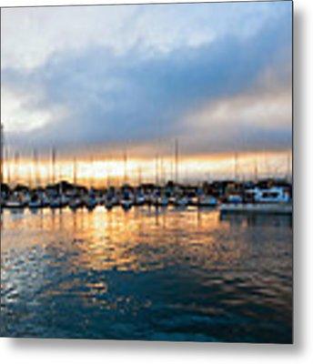 Marina Sunrise 1 Metal Print by Jim Thompson